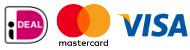 Bij Suntex Zonwering kunt u via iDeal, Mastercard of VISA betalen